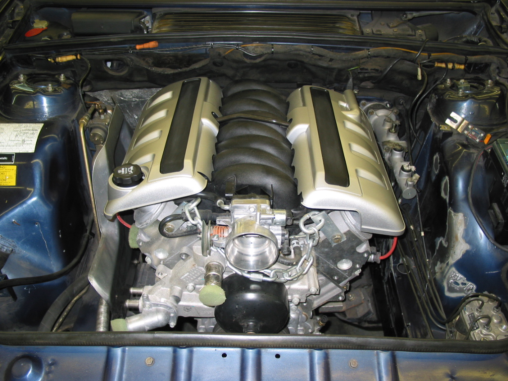 Information On 635 Csi Engine Conversions